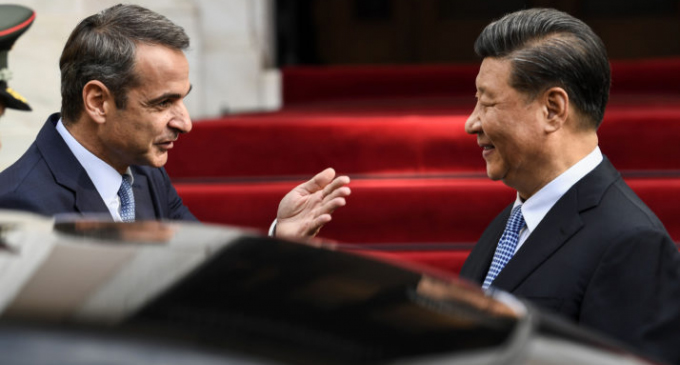 Chinese President Xi Jinping's Official Visit To Greece