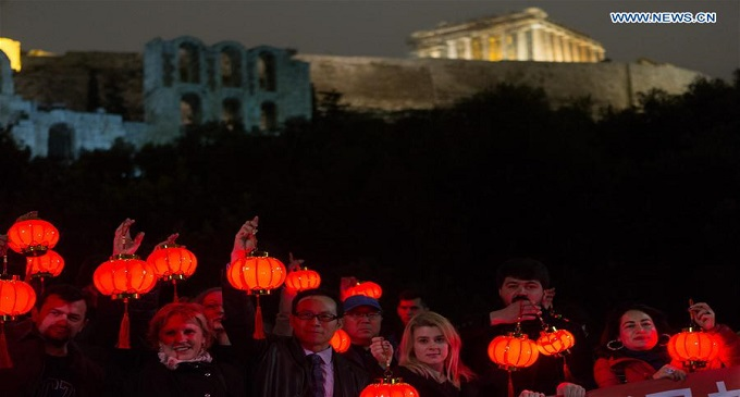 Greeks Express Solidarity With Chinese People In Novel Coronavirus Outbreak